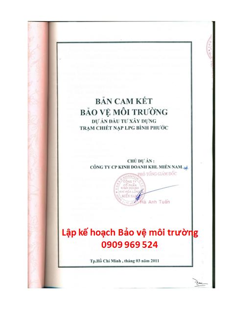 Lập kế hoạch bảo vệ môi trường tại TP Hồ Chí Minh